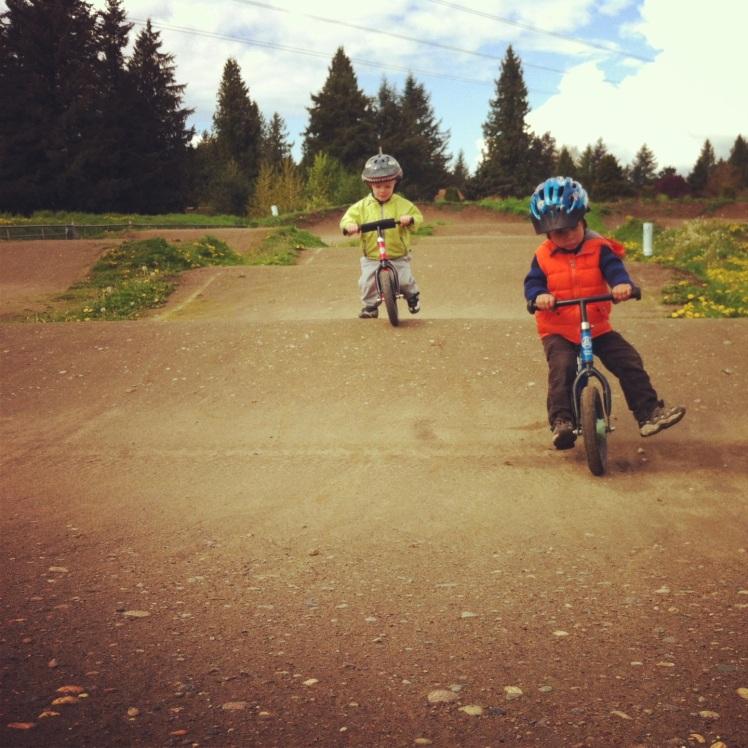 Bikes, Hills, Boys and Dirt